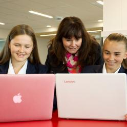 Wakatipu High School is a bring-your-own-device school, educating students using multi-platform technologies